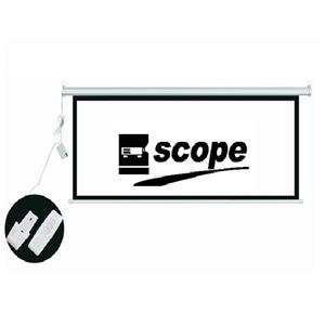Scope Electrical Video Projector Screen 150*150